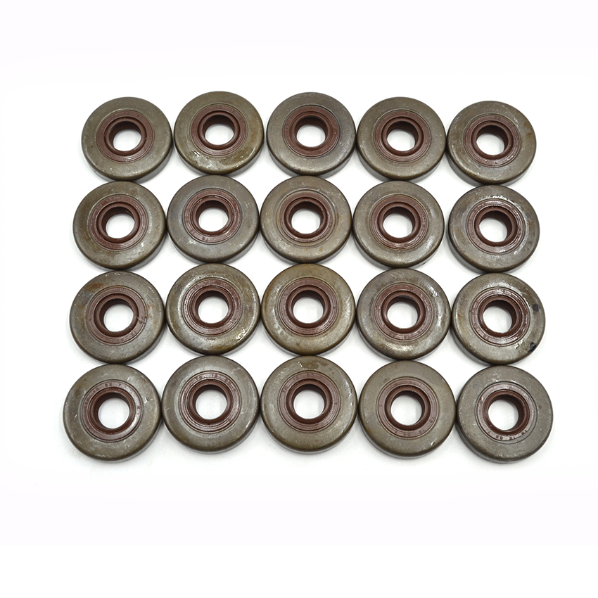 20Pcs 12X32X7 Oil Sealing Fit For FS280 FS220K FS 220 FS180 FS160 Brush Cutter Oil Seal Replacement Parts 9640 003 1280 carburetor for stl fs160 fs200 fs280 fr220 brush cutter parts replacement trimmer weed eater grass cutter carbs 41191200602 04