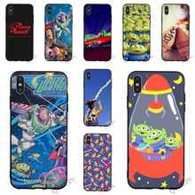 Druck Spielzeug Geschichte Pizza Planeten Telefon Abdeckung für iPhone 6 Fall 7 XR X 8 Plus 5 6S 5S SE Xs Max 11 pro Silikon Deckt Haut