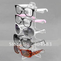 3 Eyewear Spectacles Sunglasses Display Stand Holder Rack Detachable Glasses Stand Display Up To 5 Pairs