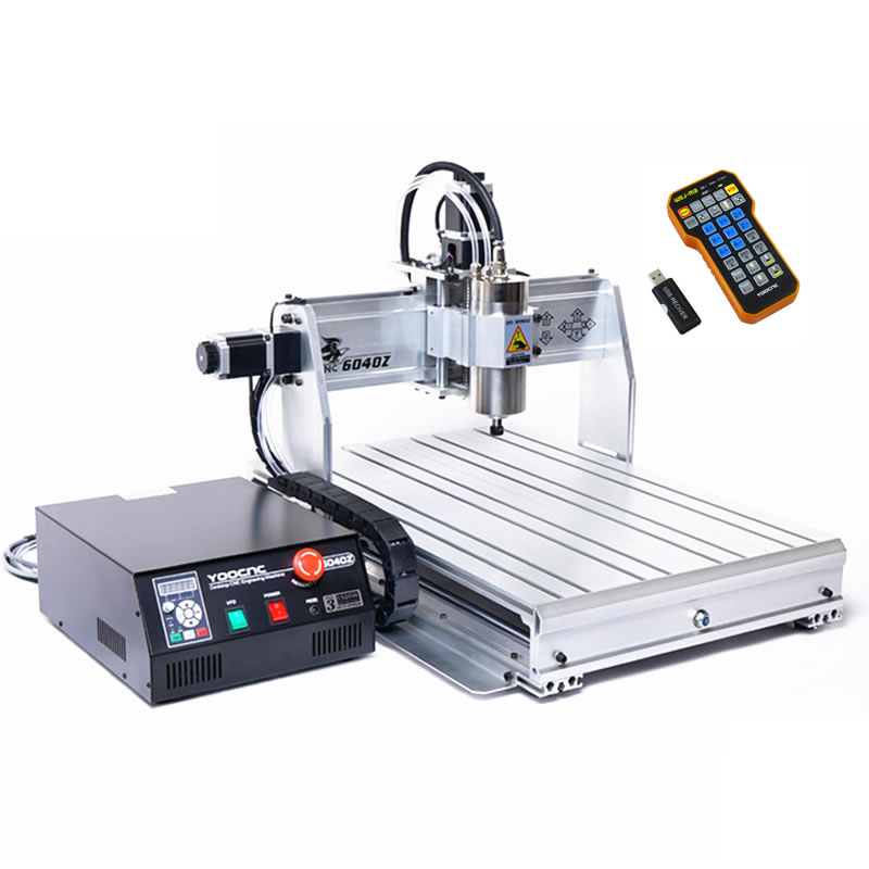CNC 6040Z USB 3 axis 2.2KW Wood Router CNC machine with Limit Switch Metal Stone Drilling Milling Machine cnc 6040z s800 router mini milling machine for metal wood polywood with usb parallel port adapter