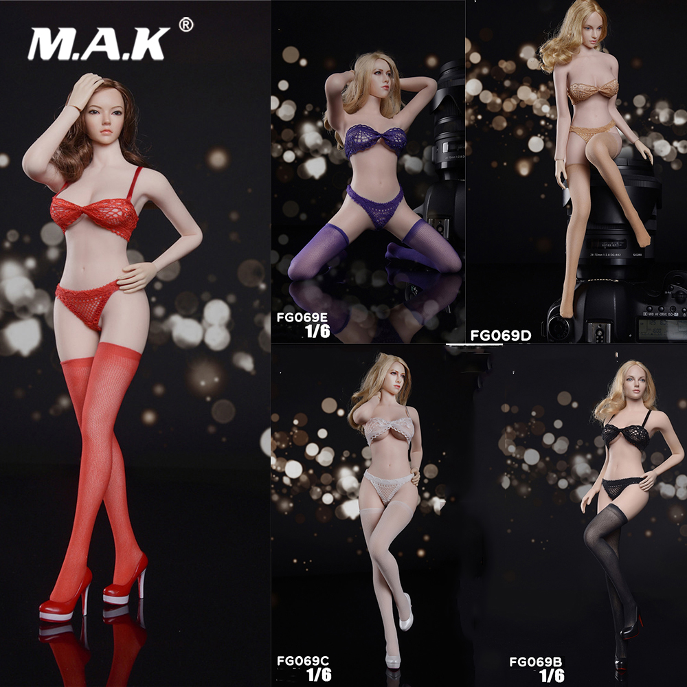 """1//6 Scale Female Clothing Accessories Lace Briefs for 12/"""" Action Figures"""