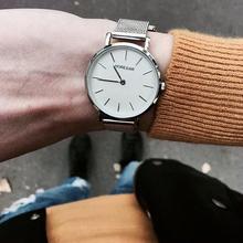 HOREDAR Women Watches Luxury Top Brand Stainless Steel Watch Women Elegant Silver Wristwatch Female Clock Fashion Gift