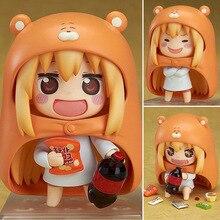 4 «Nendoroid Аниме Himouto! Умару-чан Дома Умару В Штучной Упаковке 10 см ПВХ Эктон Рисунок Коллекция Модель Кукла игрушка в Подарок