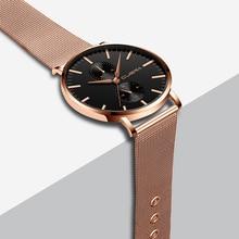 2021 새로운 남성 시계 Ceasuri 최고 브랜드 럭셔리 쿼츠 시계 Saat 남자 간단한 비즈니스 스테인레스 스틸 군사 시계 Saat Erkek