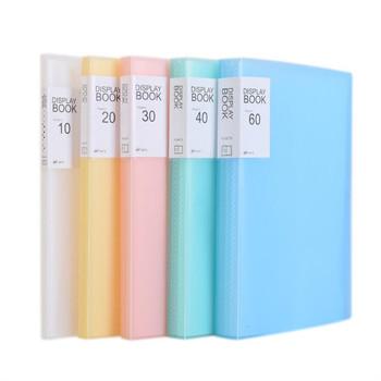 1PC A4 organizer na dokumenty 20 40 60 strona przezroczysta wkładka Folder torba na dokumenty do przechowywania plików w kampusie bankowym biuro miejsce pracy rodzina tanie i dobre opinie Folder prezentacji 01010 23 5*31mm Random