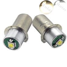 2Pcs New Maglite PR2 PR3 PR4 3W XPG-2 Led Upgrade Flashlight Kit Bright Warm White 3Watt P13.5S DC3V-18V Free Shipping