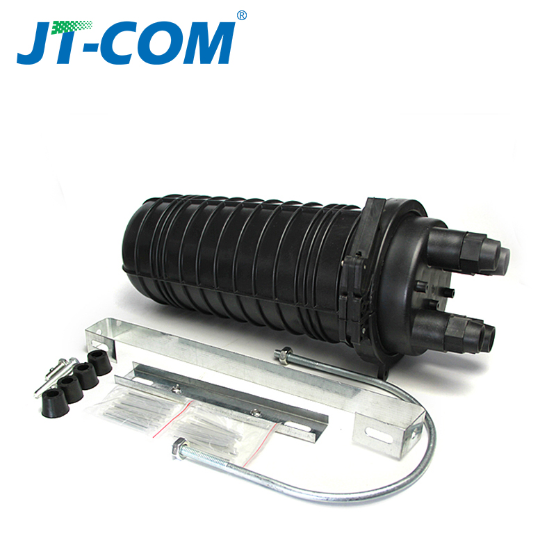 24 core fiber optical splice closure box dome type mechanical seal cable connection ABS material junction box24 core fiber optical splice closure box dome type mechanical seal cable connection ABS material junction box