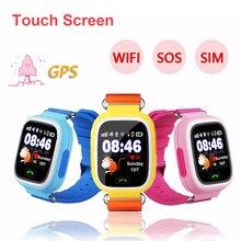 Timethinker Детские Смарт-часы телефон gps положение для присмотра за детьми, Цвет Сенсорный экран WI-FI SOS смарт детские часы PK для Q50 Q80