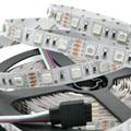I-Living 5m/lot waterproof IP65 rgb led strip DC12V 150leds flexible tape full color changeable lighting for home light