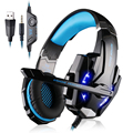 IMice Wired Headphones Adjustable Earphones Gaming Headset Gamer With Stereo Sound Microphone For Laptop Computer LOL Game