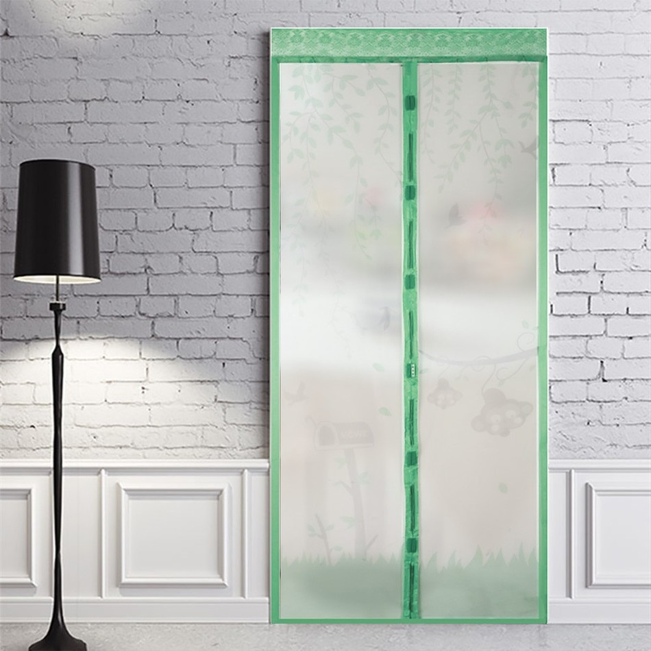 Hot 2.1*1m Hand Free Mosquito Net Door Magnetic Anti Mosquito Curtains  Mosquito Screen Fly