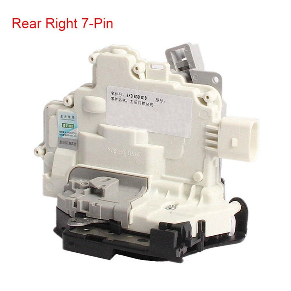 цена на Rear Right 7-Pin Passenger Side Door Lock Latch Acutator For VW Passat B6/3C B7-EU Tiguan AUDI A4 B8 A5 Q3 Q5 Q7 TT 8K0839016