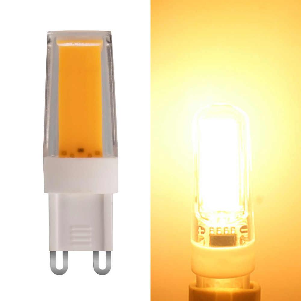 5 Вт G9 удара лампа накаливания лампа столовая потолок в корридоре свет заменяемая лампочка (теплый белый) AC 220-240 V 4 шт./компл.