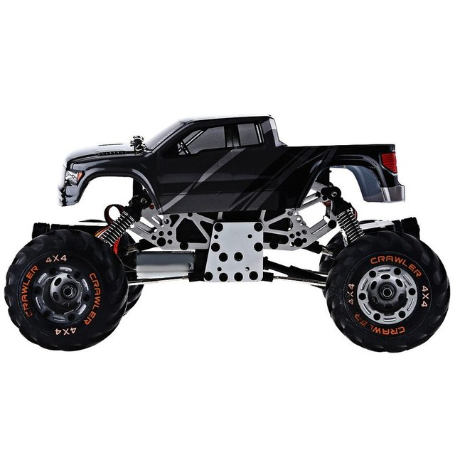RC Car 2.4G Rock Crawler Car 4 WD Simulation Racing Car 1 / 24 Off-Road Vehicle Buggy Light Weight Electronic Model Toy Kid Gift