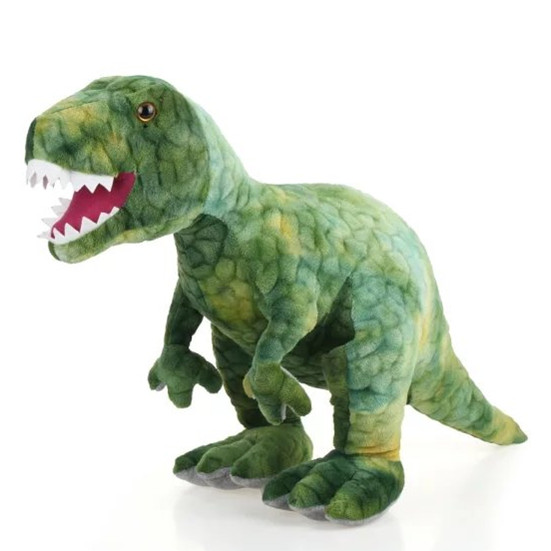 cartoon dinosaur big 80cm Tyrannosaurus Rex plush toy dinosaur doll throw pillow, birthday gift x018 mini electric massager digital pulse therapy muscle full body massager blue