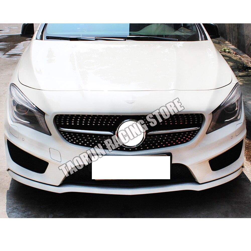 Diamantgitter Frontgrill Grill Schwarz für Benz W117 CLA260 CLA45 AMG 2013-2019