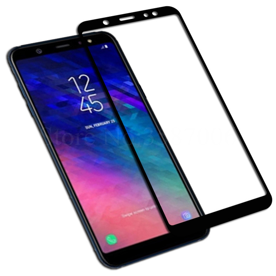 Dual Sim Samsung Us 2 14 20 Off Full Cover Tempered Glass For Samsung Galaxy A6 2018 Dual Sim Screen Protector For Samsung Galaxy A6 Plus 2018 A6 A605f A6plus In