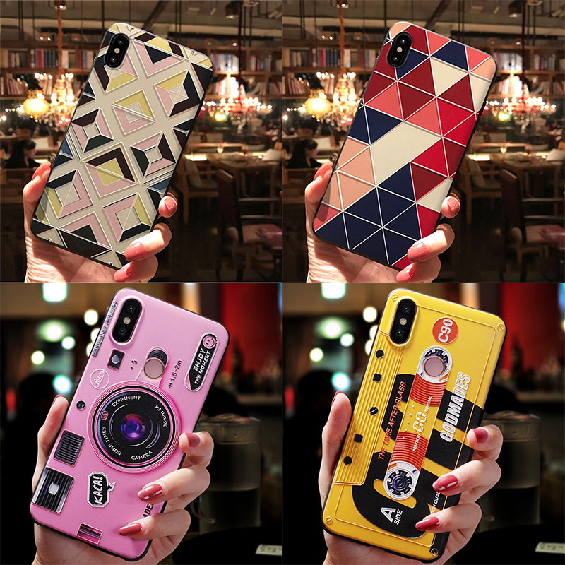 3D Relief Camera Case For <font><b>Samsung</b></font> Galaxy A50 A30 A5 A7 <font><b>A9</b></font> A6 A8 Plus 2018 2017 <font><b>2016</b></font> Case For <font><b>Samsung</b></font> S10 S9 S8 S6 S7 Edge Plus image