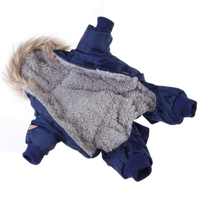 Warm Fashion Coat for Small and Large Dogs 2