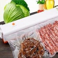 110 V 220 V Küche Vakuum-versiegelung Maschine für Dichtungsclip Essen Vakuum Lebensmittel Versiegelungen für hause Vakuum Packer