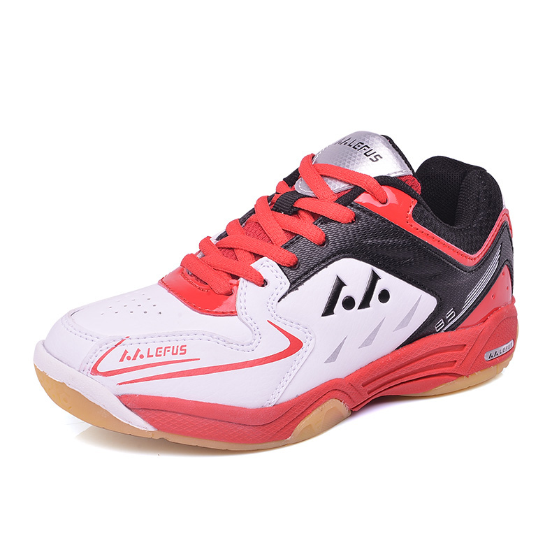 Light Table Tennis Shoes For Kids Children Girls Boys Badminton Shoes Breathable Anti-skid Badminton Sneakers Indoor Sport Shoes image