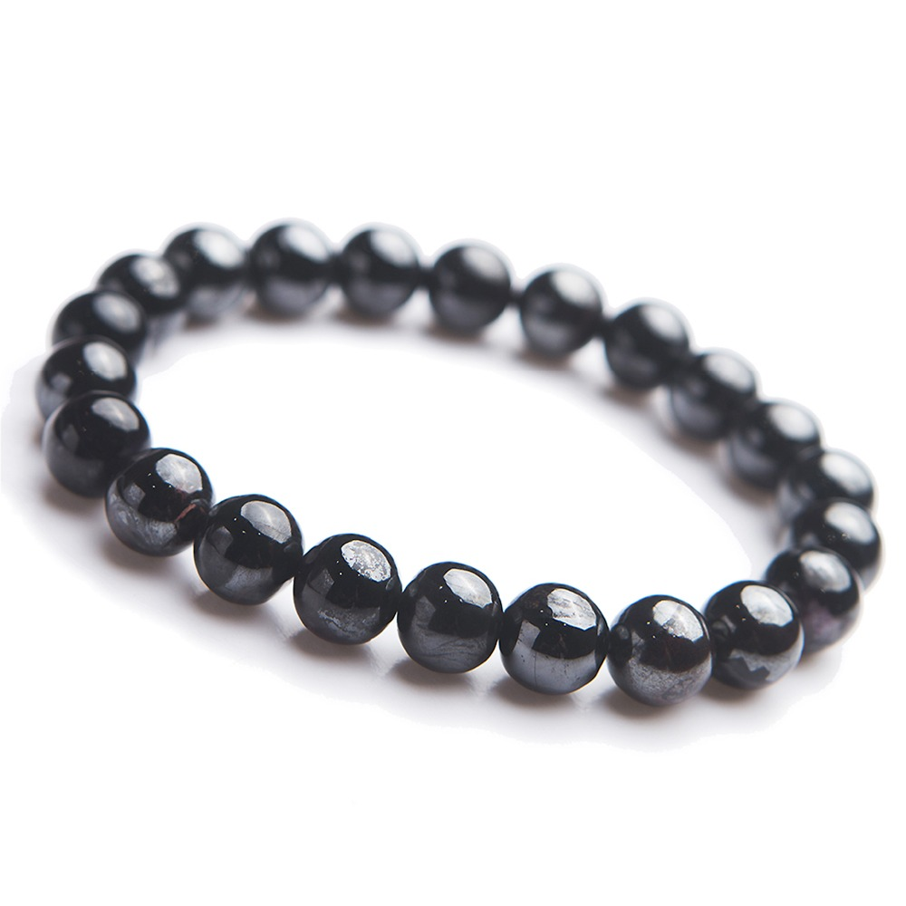 Genuine Round Bead Jewelry Bracelets Natural Sugilite Crystal Gem Purple Bracelet For Women Men Female 9mm 9mm genuine sugilite bracelets for female women natural stone round beads crystal jewelry bracelet