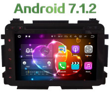 "8"" Android 7.1 Quad Core 2GB RAM 4G WiFi Multimedia Car DVD Player Radio Stereo GPS Navi Screen For Honda Vezel HRV 2014-2016"