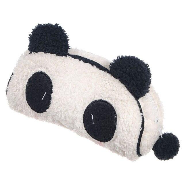 Wholesale 10*AUAU Soft Plush Panda Pencil Phone Card Case Cosmetic Makeup Bag Pouch Purse