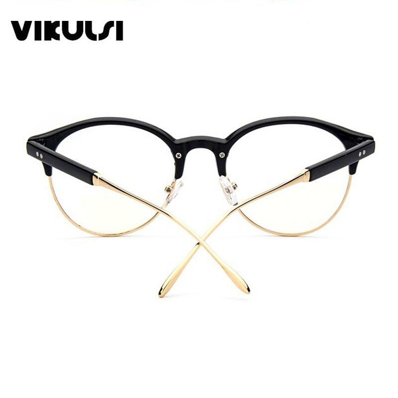 13c96de9e19 Ladies Vintage Half Frame eyewear Eyeglasses Cat Eye Glasses Optical Frame  Points Eye Glasses Frames For Women oculos de grau-in Eyewear Frames from  Apparel ...