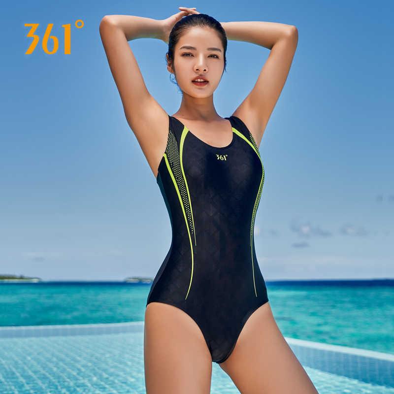 361 женский купальник черный сексуальный цельный купальник пуш-ап плотный треугольный спортивный конкурентный купальник Дамский бассейн пляжный купальный костюм