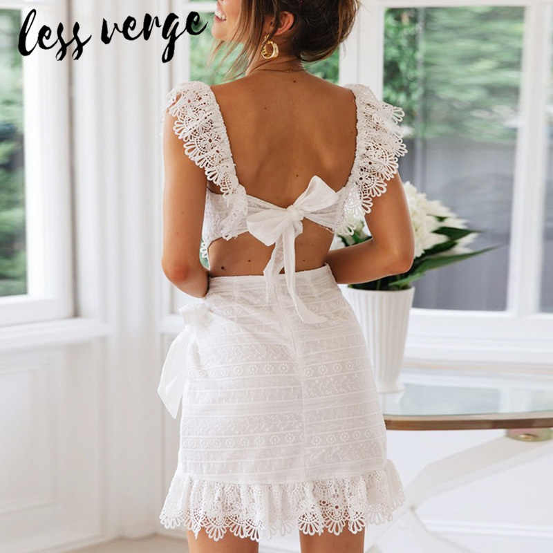 951fda9465d59 Detail Feedback Questions about lessverge Deep v neck embroidery ...