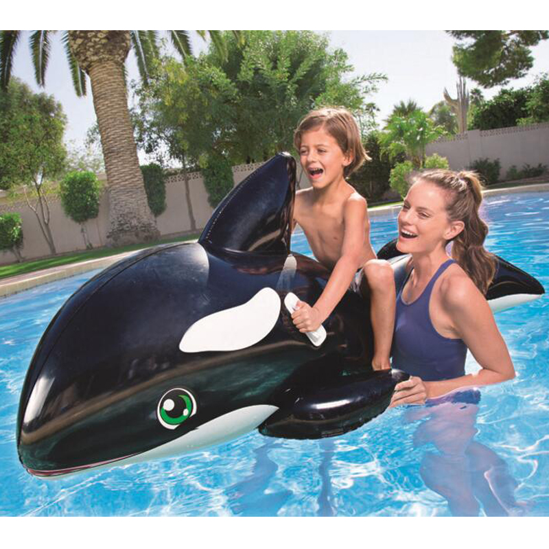 203*102cm Kids Inflatable The whale Pool Floats Buoy Swimming Air Mattress Floating Island Toy Water Boat Pontoon Summer Fun