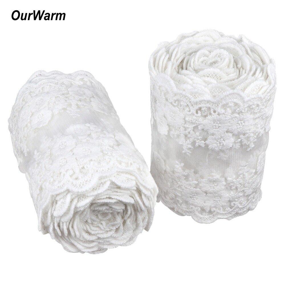 OurWarm м 1 м белый кружево ткань одежда ткань для шитья и рукоделия интимные аксессуары Craft длиной 1 м 11 см Ширина