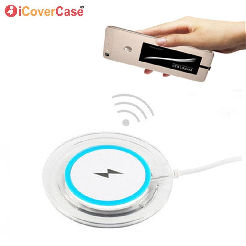 Wireless Charger For Samsung Galaxy A3 A5 A7 2016 2017 Wireless Charger Pad Phone Accessory With Qi Receiver Tag and Cover Case