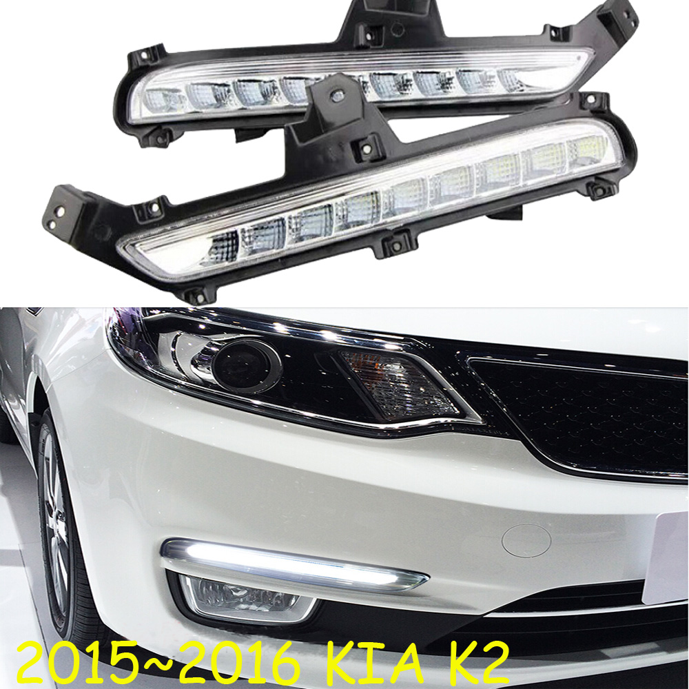 ФОТО 2015~2016 KIA K2 daytime light,kia rio,Free ship to your door!LED,KIA k2 fog light,kia ceed,2ps/set;kia k3;kia cerato