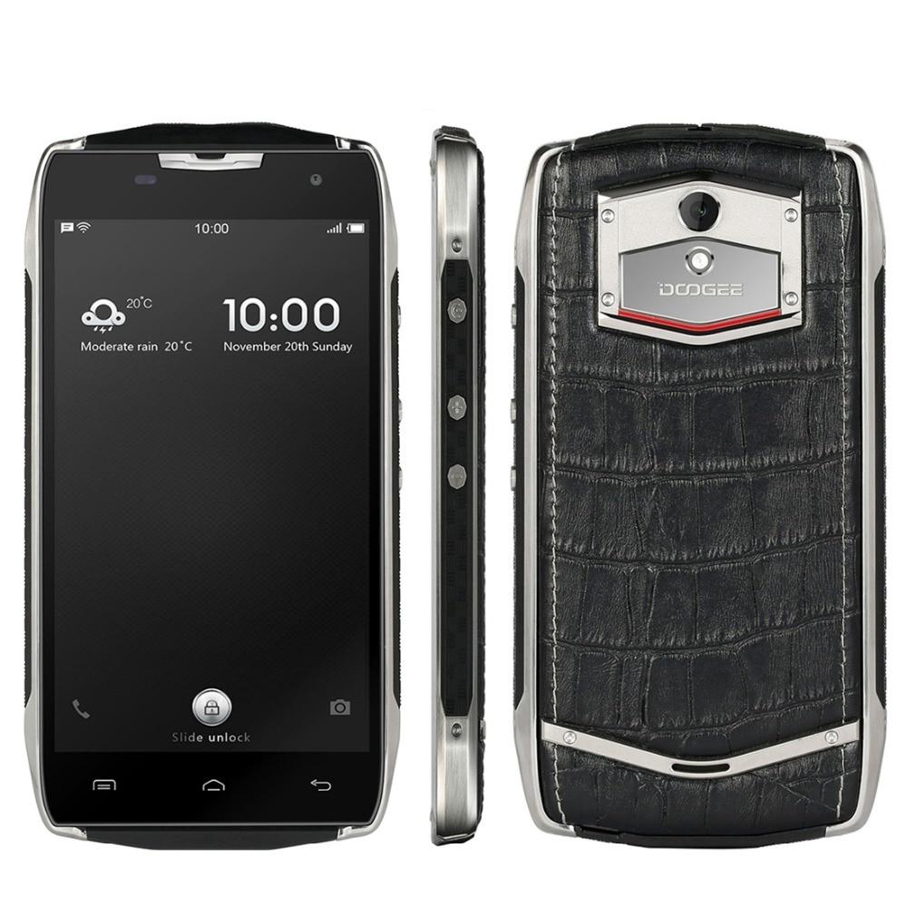 Doogee T5 Lite Smartphone 4500mah Waterproof Shockproof Dustproof 5.0 inch Screen Android 6.0 Quad Core MTK6735 2G RAM+16G ROM