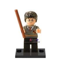 Single Sale star wars superhero marvel Harry Potter Classic building blocks action sets model bricks toys for children(China (Mainland))