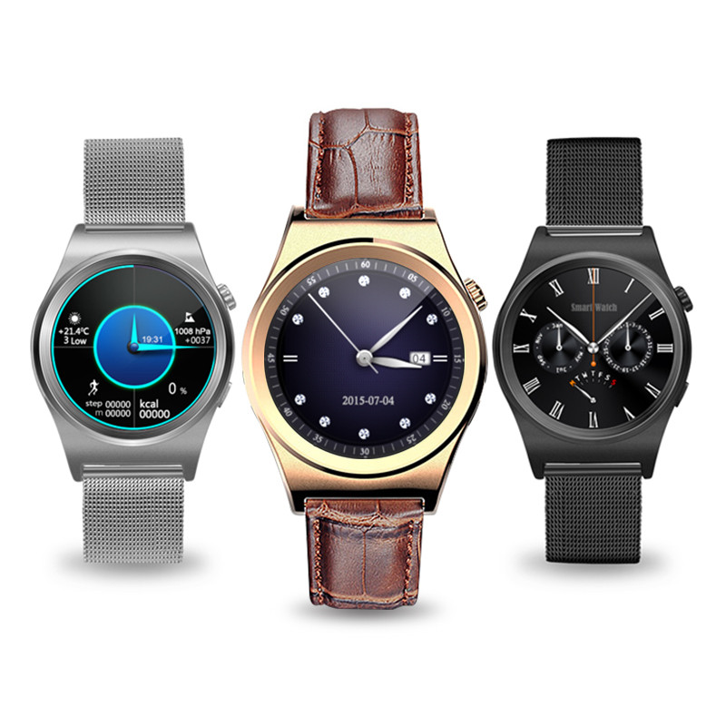 New Smart Watch Smartwatch MTK2502 Barometer Pedometer Heart rate Monitor Smart Watch android Gear S3 for IOS Android phone new wifi android smart watch wrist watch smartwatch heart rate monitor fitness tracker pedometer for sumsang galaxy gear 2