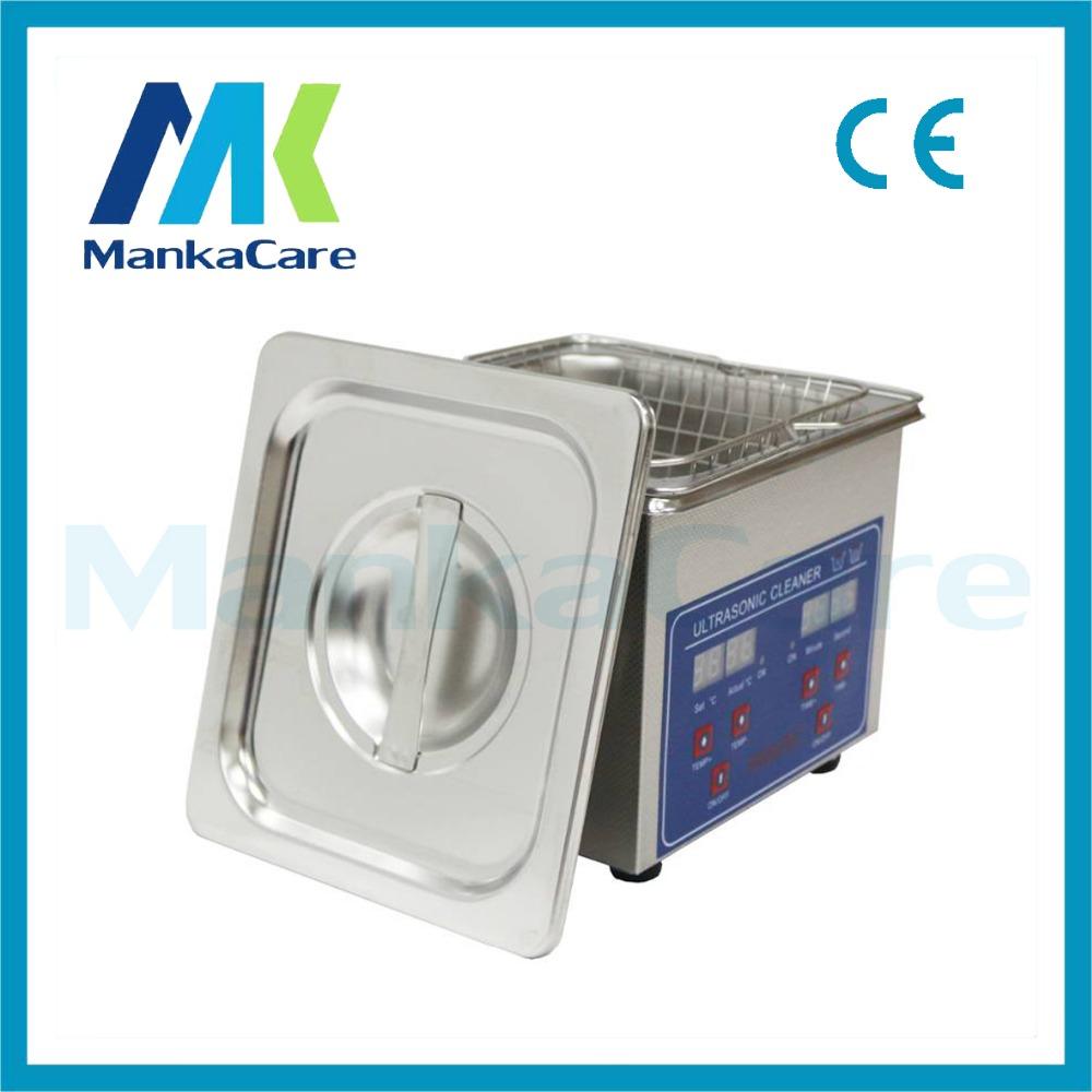 High Power Dental Stainless Steel 1.3L Ultrasonic Cleaner Cleaning Machine Digital Heated Cleaning Machine цена и фото