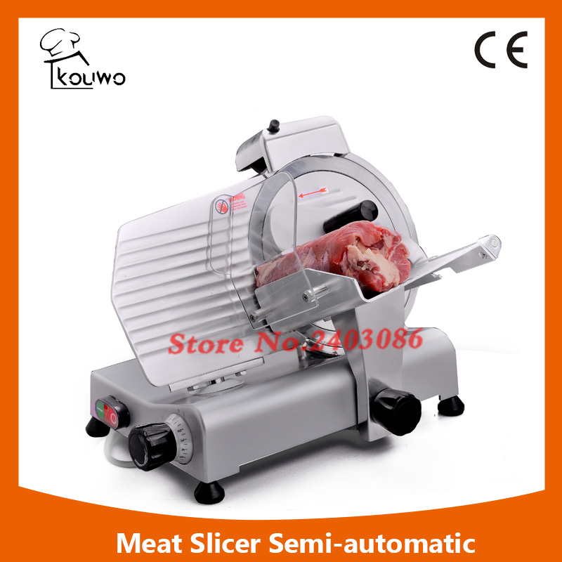 high efficiency industrial semi automatic electric kitchen equipment frozen meat slicer food cutting machine with 275mm blade itop 10 blade premium meat slicer electric deli cutter home kitchen heavy duty commercial semi automatic meat cutting machine