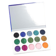 1 PC Classic Mermaid Eye Makeup Shadow Sequins Shimmering Palette 15 Color Durable Waterproof Cosmetics