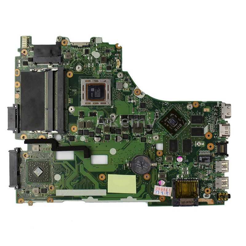 Akemy Voor Asus X550ZE K555Z A555Z X555Z X750/X550 Laptop Moederbord A8-7200 Cpu Moederbord Met Grafische Kaart Test Goed