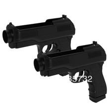 ViGRAND Free Shipping 2pcs Semi Auto Pistol Gun Handle for wii controller