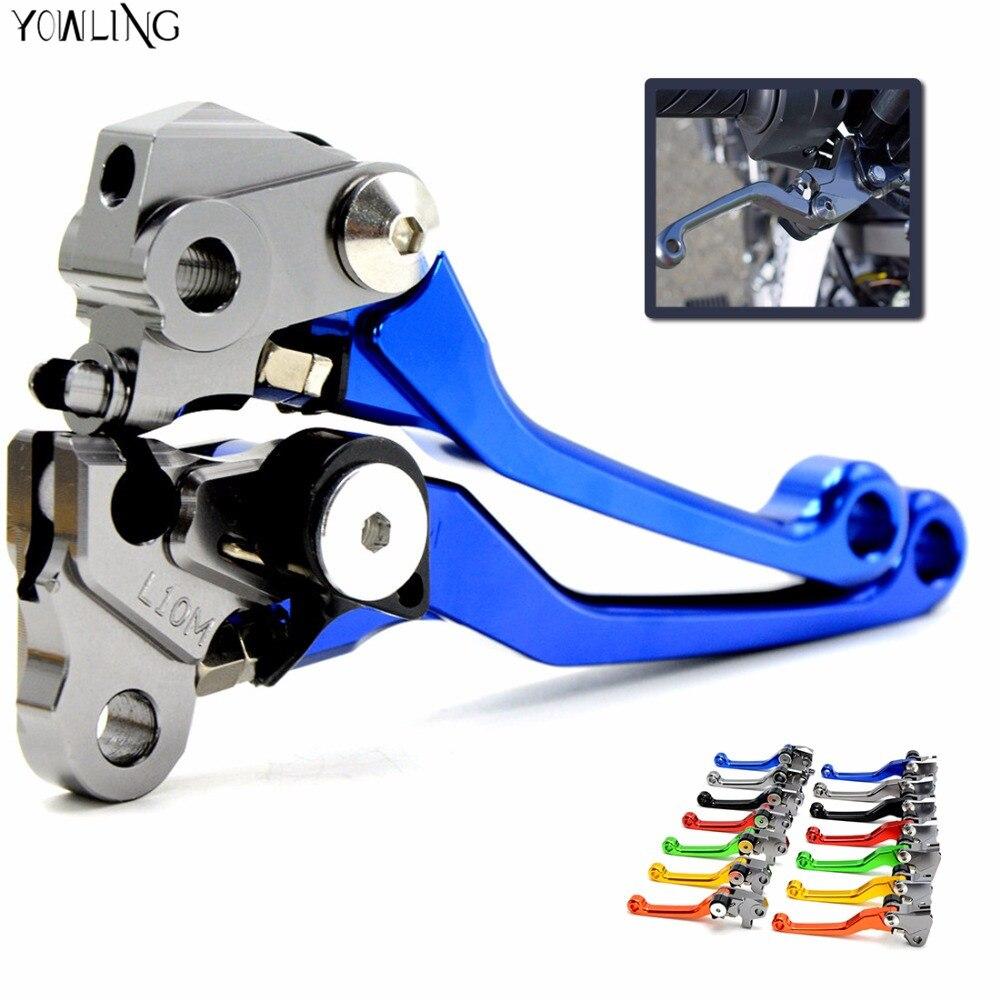 Motorcycle CNC Pivot Brake Clutch Levers for HONDA 125 SUZUKI 250 YAMAHA 450 WR250 YZ YZF WR 250 KTM 150 KAWASAKI 500 KX 250 r mountain кепка r mountain b 606 blue