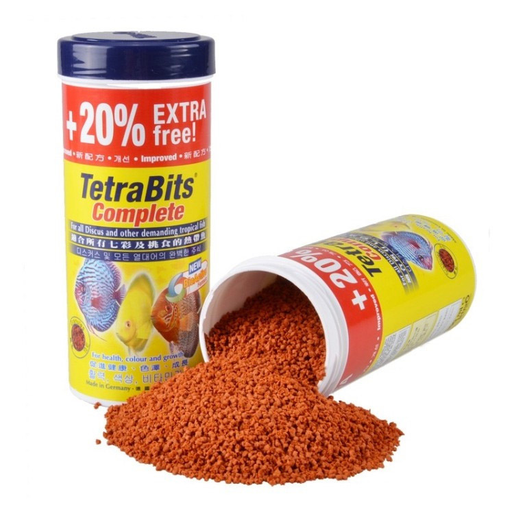 tetra discus granules tropical fish food sink in water