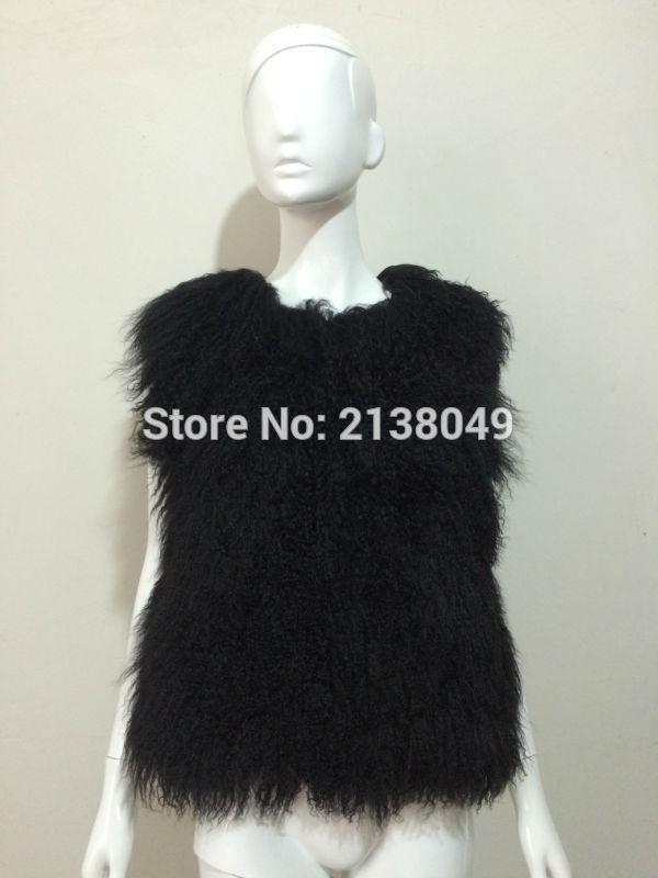 Longue Manteau Mode Beige ivoire argent Véritable Veste Chaud Sf0043 Gilet Moutons De Fourrure dpqwSEE0x