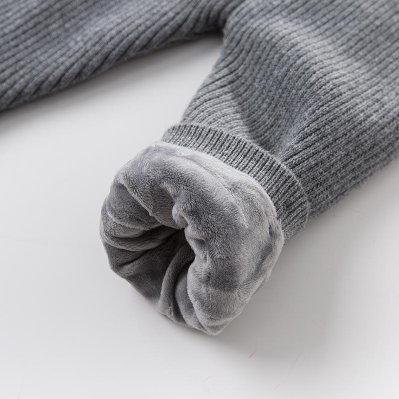 DB6495 dave bella unisex autumn winter baby girls boys full length infant fashion pants children toddler trousers 5