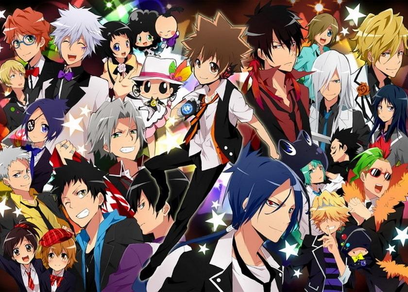 ผลการค้นหารูปภาพสำหรับ reborn anime