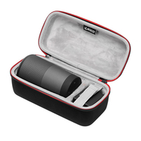 Portable EVA Speakers Hard Protective Cover Case Pouch Bag Storage Carrying Cover Organizer for Bose Soundlink Revolve Speaker