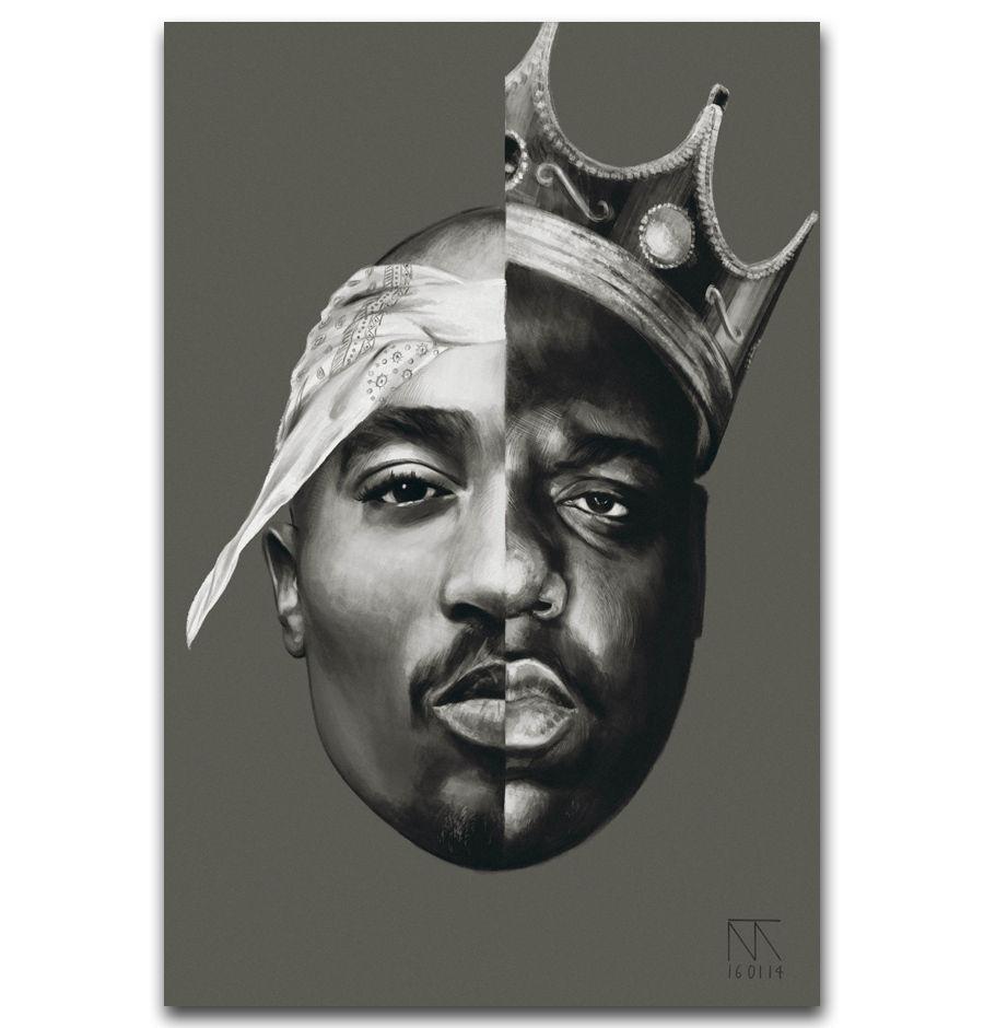 24x36 14x21 40 Poster Tupac Shakur 2Pac Hip Hop Star Art Hot P-2405